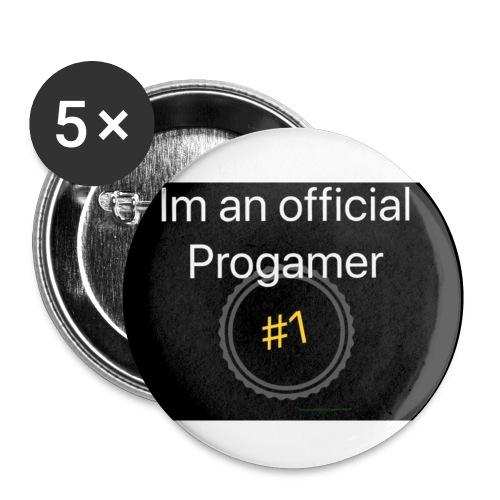 THE PRO'S - Buttons small 1''/25 mm (5-pack)