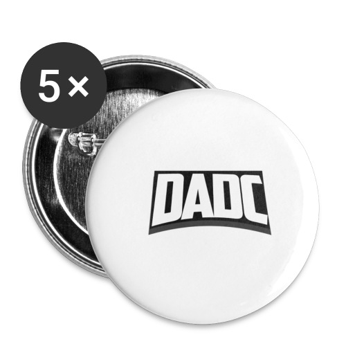 DaDC Logo Design - Buttons small 1''/25 mm (5-pack)