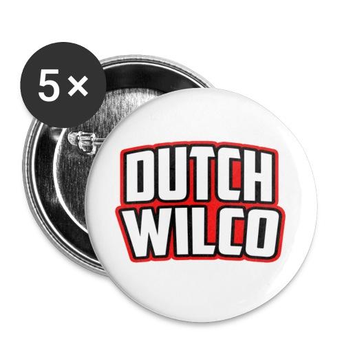 Dutchwilco-Logo - Buttons klein 25 mm