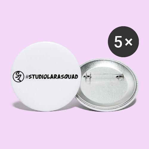 studiolarasquad - Buttons klein 25 mm (5-pack)