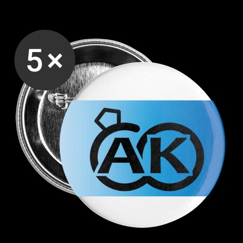 AK - Buttons klein 25 mm (5er Pack)
