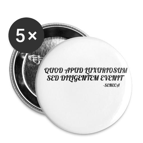 SENECA - Confezione da 5 spille piccole (25 mm)
