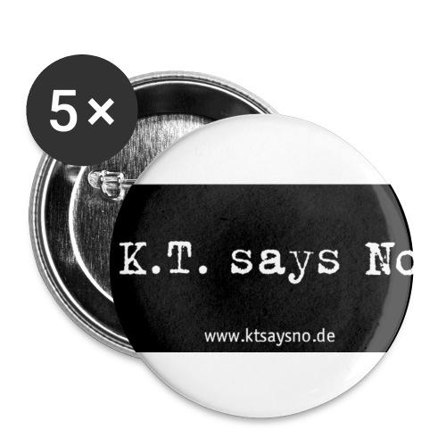 kopie von ktsaysnobanner 2 p2 - Buttons klein 25 mm (5er Pack)