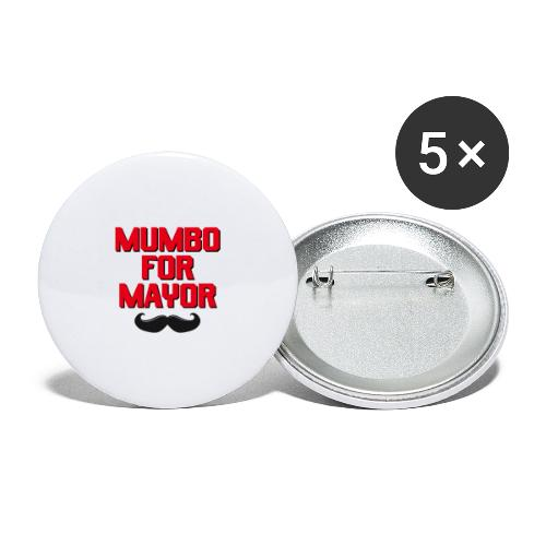 00392 Mumbo for Mayor - Paquete de 5 chapas pequeñas (25 mm)
