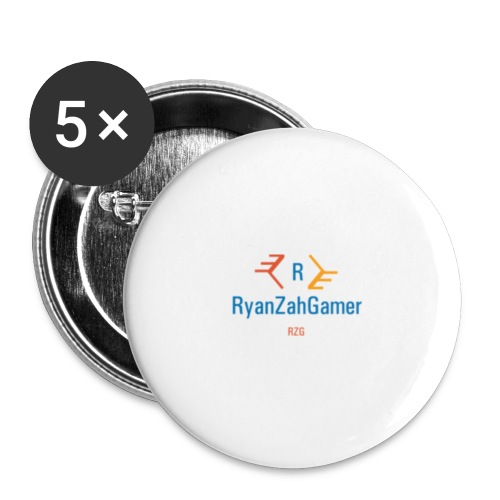 RyanZahGamer Exclusive Merch! - Buttons small 1''/25 mm (5-pack)