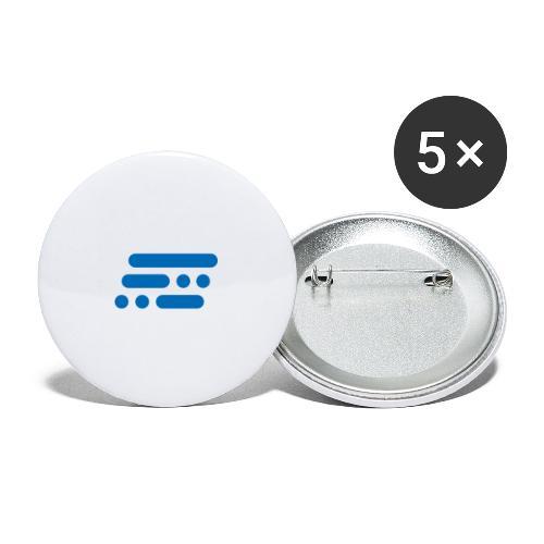 Bildmarke Blue - Buttons/Badges lille, 25 mm (5-pack)