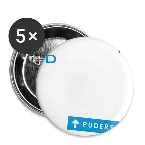 pudersn_2vari - Rintamerkit pienet 25 mm (5kpl pakkauksessa)