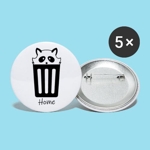 Home by Lynks - Buttons klein 25 mm (5er Pack)