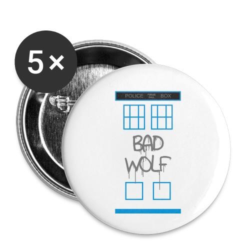 Doctor Who Bad Wolf - Confezione da 5 spille piccole (25 mm)