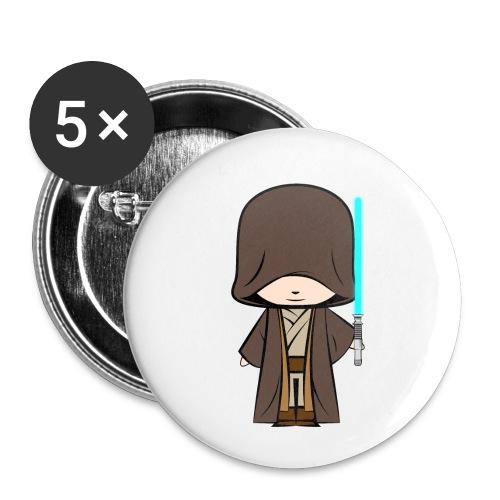 Jedi_Generique - Lot de 5 petits badges (25 mm)