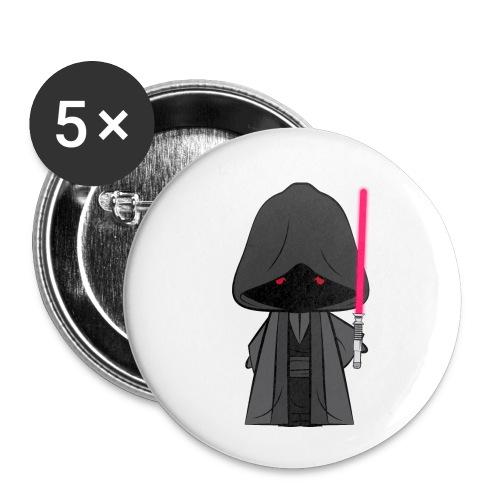Sith_Generique - Lot de 5 petits badges (25 mm)