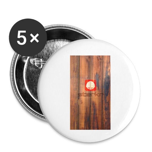 VHEH - Sterkr Wood - Buttons small 1''/25 mm (5-pack)