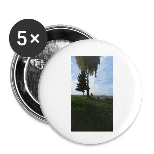 Nature - Buttons klein 25 mm (5er Pack)