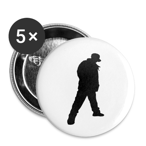 Brix City Tee - Buttons small 1''/25 mm (5-pack)