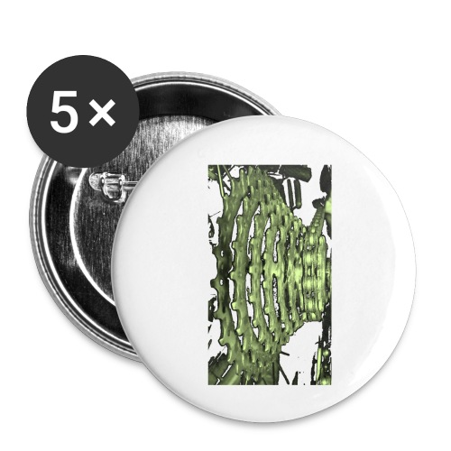 cluster_pale_green_copy - Buttons small 1''/25 mm (5-pack)