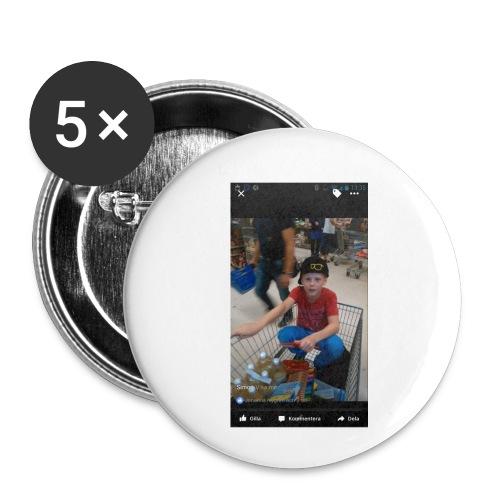 Ullared tur - Små knappar 25 mm (5-pack)
