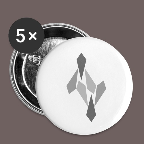 GBIGBO zjebeezjeboo - Rock - Ange 69 V - Lot de 5 petits badges (25 mm)