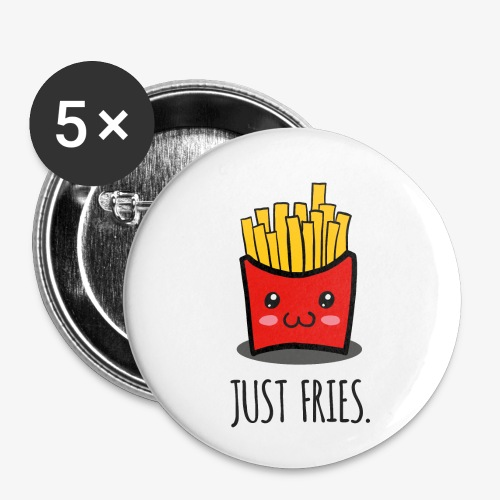 Just fries - Pommes - Pommes frites - Buttons klein 25 mm