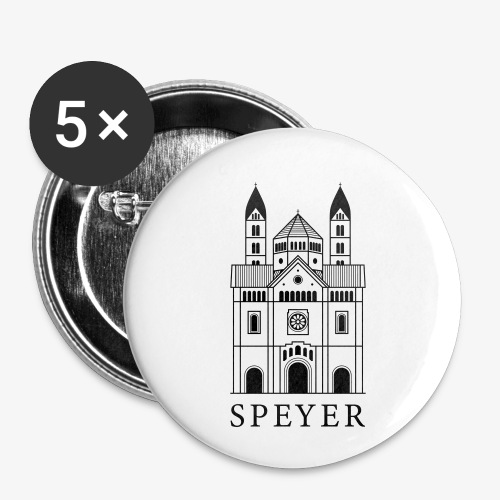 Speyer - Dom - Classic Font - Buttons klein 25 mm