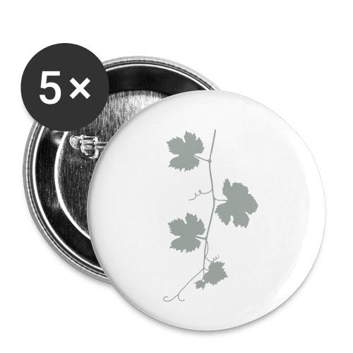 weinrebe - Buttons klein 25 mm (5er Pack)