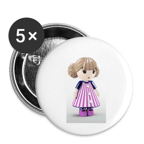 20181017 130532 - Confezione da 5 spille piccole (25 mm)