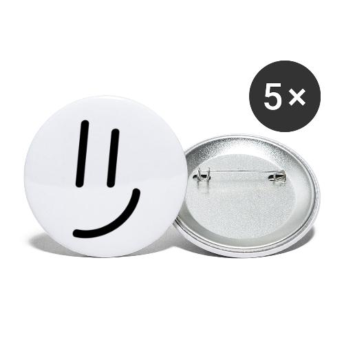 Smile. - Buttons klein 25 mm (5er Pack)