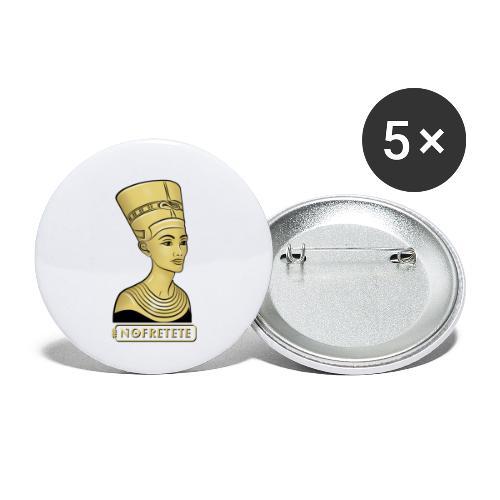 Nofretete I Königin von Ägypten - Buttons klein 25 mm (5er Pack)