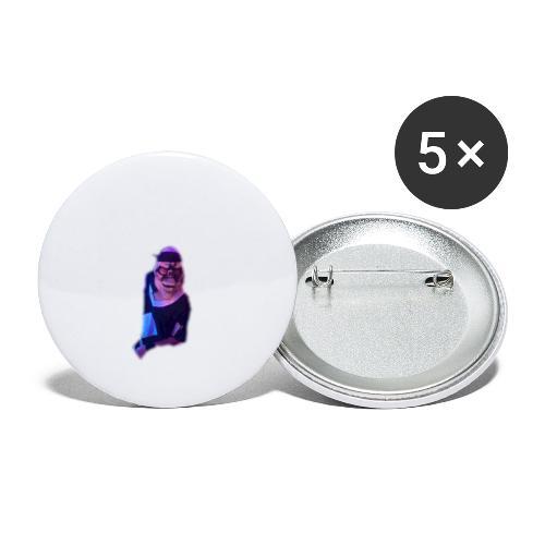 JOAQUIN - Paquete de 5 chapas pequeñas (25 mm)