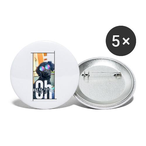 Oh my god, Chloe! - Små knappar 25 mm (5-pack)