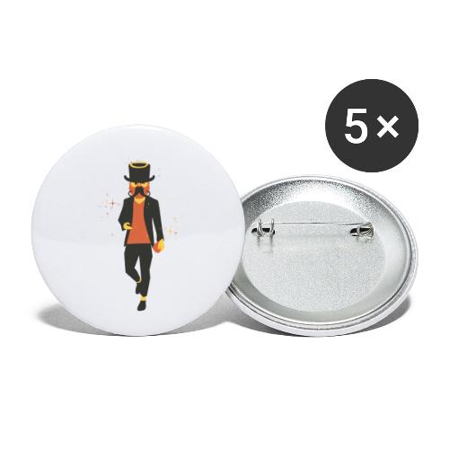Dugly by Dougsteins - Buttons small 1''/25 mm (5-pack)