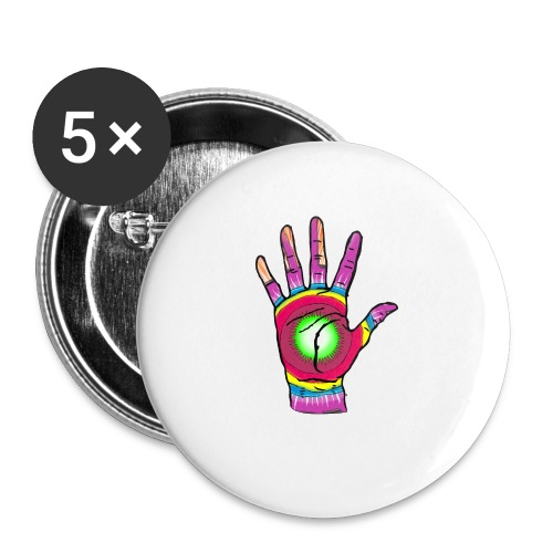 Stop and change the world - Buttons small 1''/25 mm (5-pack)
