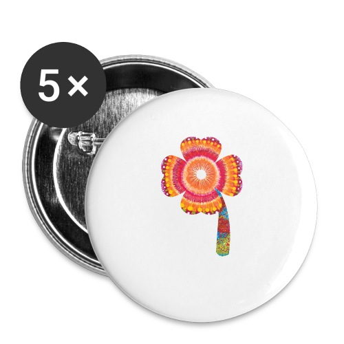 lucky - Buttons small 1''/25 mm (5-pack)