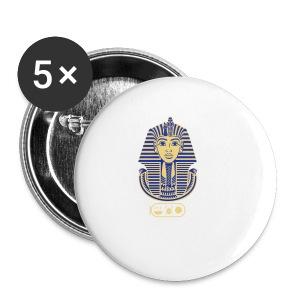 Tutanchamun (zweifarbig) - Buttons klein 25 mm