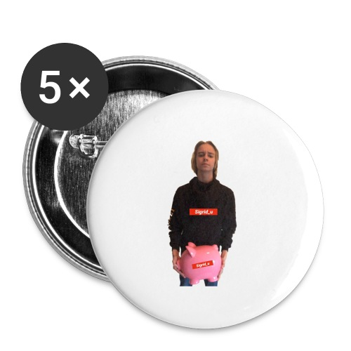 Sigrid_uPhotoTee - Liten pin 25 mm (5-er pakke)