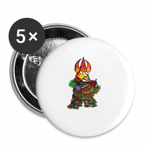 Jarramplas - Paquete de 5 chapas pequeñas (25 mm)