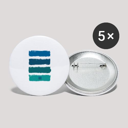MK 21 - Buttons small 1''/25 mm (5-pack)