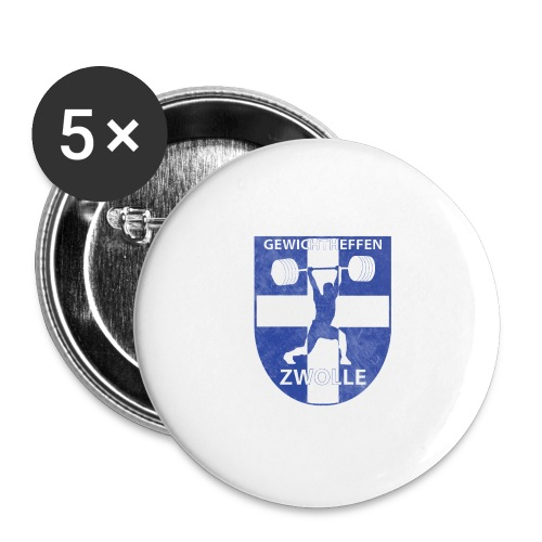 Merchandise - Buttons klein 25 mm (5-pack)