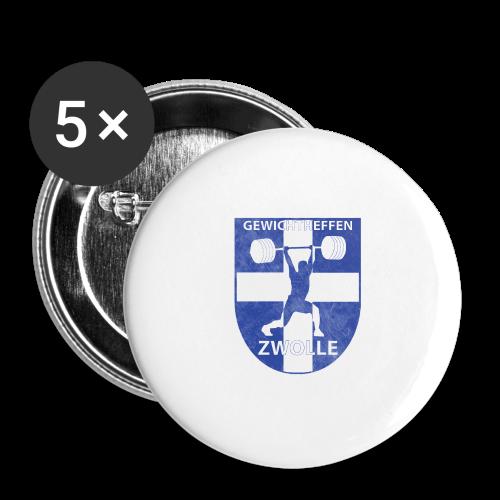 Merchandise - Buttons klein 25 mm