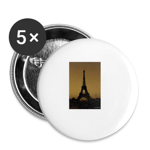 Paris - Buttons small 1''/25 mm (5-pack)