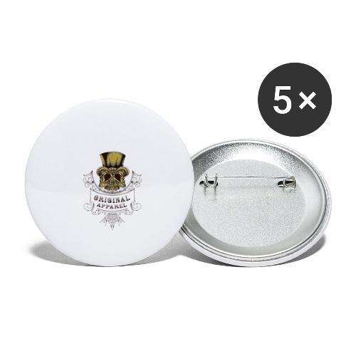 Original Apparel - Små knappar 25 mm (5-pack)