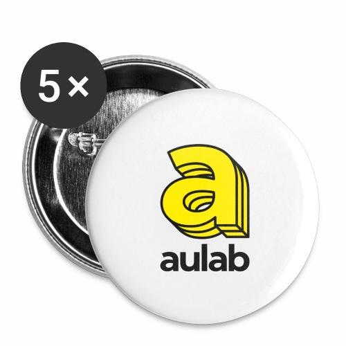 Marchio aulab - Confezione da 5 spille piccole (25 mm)