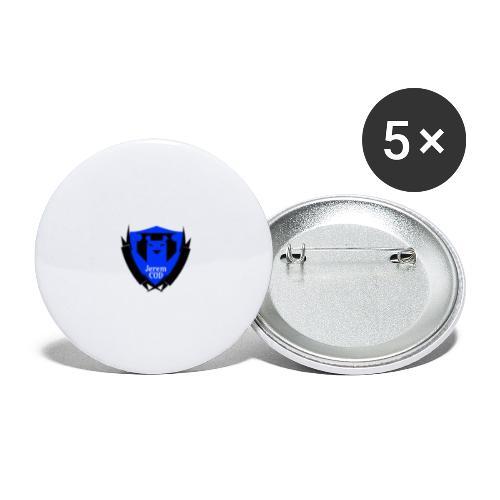Accessoire Jerem COD - Lot de 5 petits badges (25 mm)