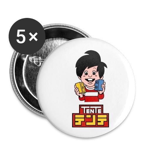 TENTE Japonés (Nomura) - Paquete de 5 chapas pequeñas (25 mm)