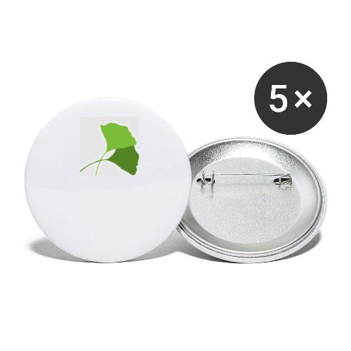 Ginko Logo - Lot de 5 petits badges (25 mm)