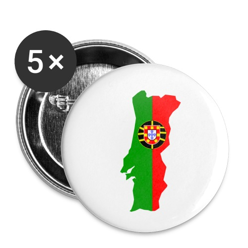 Portugal - Buttons klein 25 mm (5-pack)