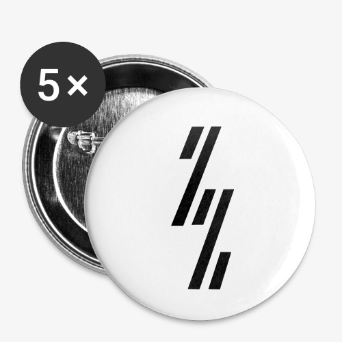 ZZ ZependeZ Vrouwen T-shirts - Buttons klein 25 mm (5-pack)