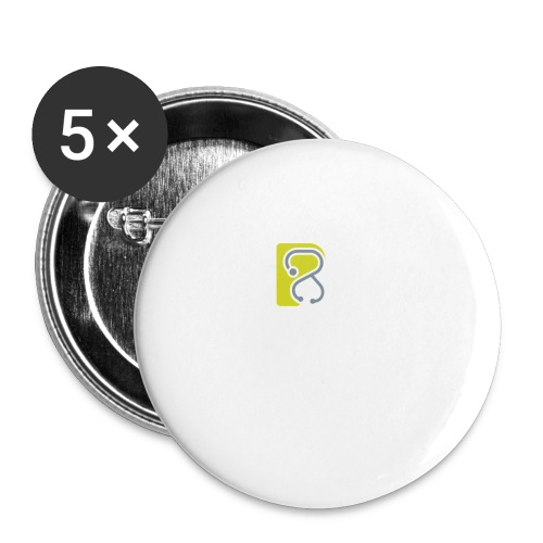 LogoTS - Buttons klein 25 mm (5er Pack)