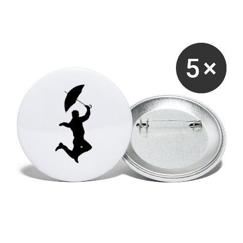 Stilestile - Confezione da 5 spille piccole (25 mm)
