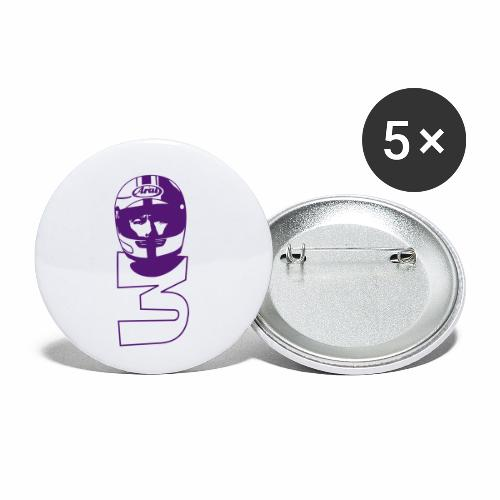 joeybandw - Buttons small 1''/25 mm (5-pack)