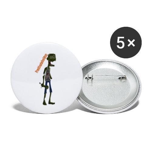 Frank00001 - Paquete de 5 chapas pequeñas (25 mm)